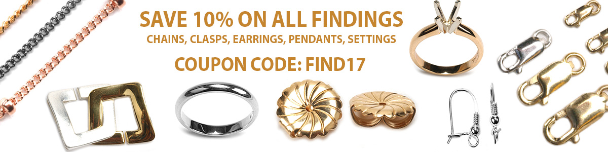 Save 10% on Findings Coupon Code: FIND17