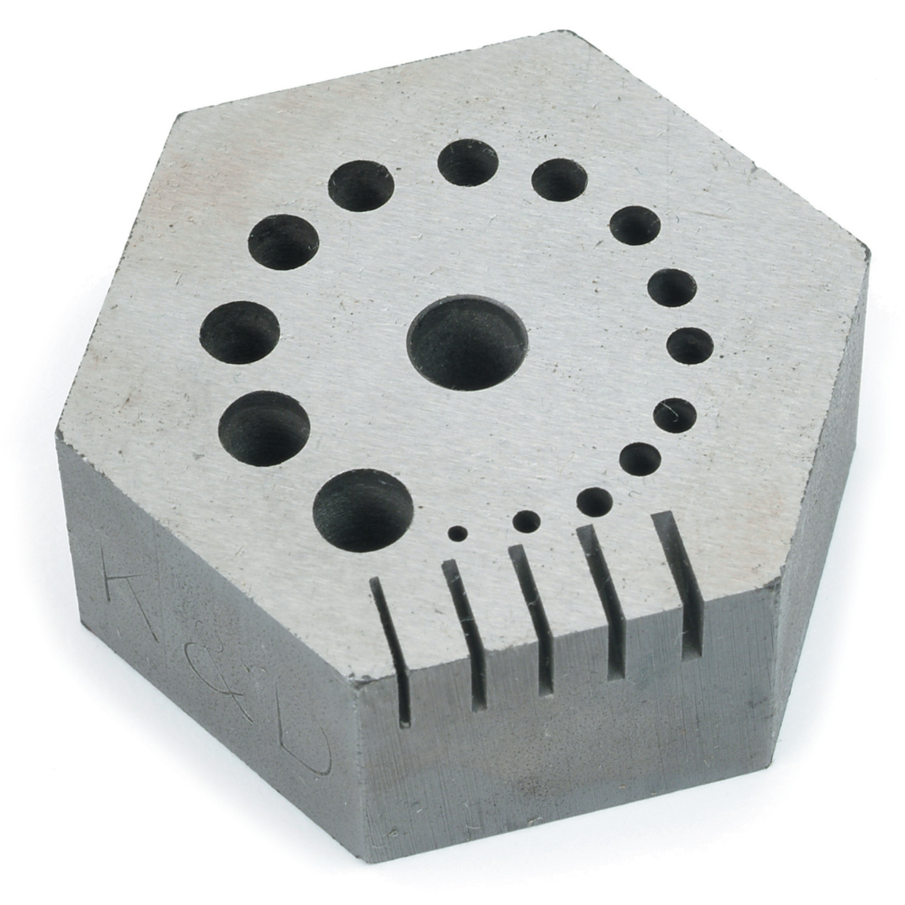Hexagon Riveting Anvil Made In Usa Ottofrei Com