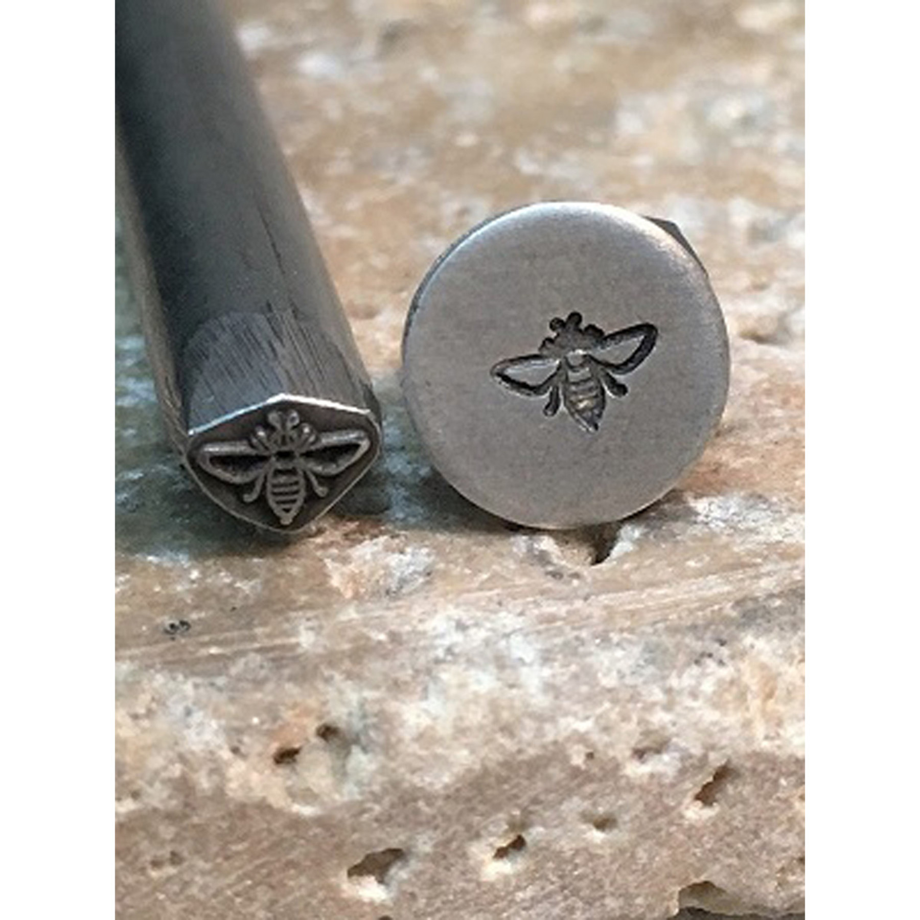 Insect Metal Stamp Bee