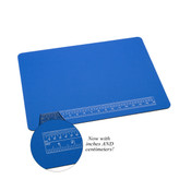 """Padded Work Mat with Ruler-20"""" x 15"""