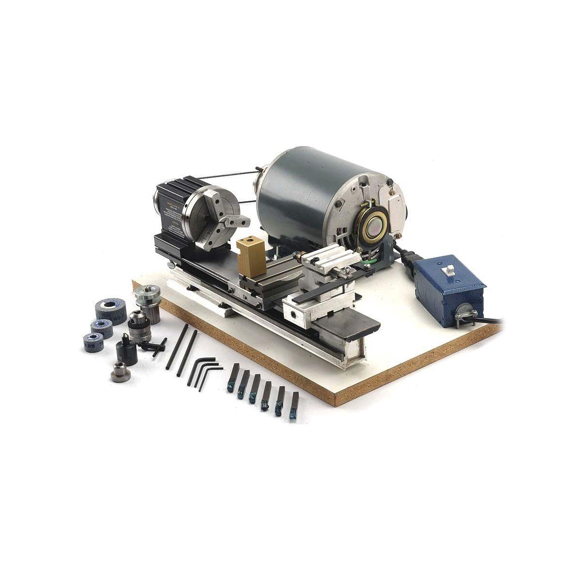 Otto Frei TAIG Micro Lathe II-Completely Assembled & Pre-Wired ...