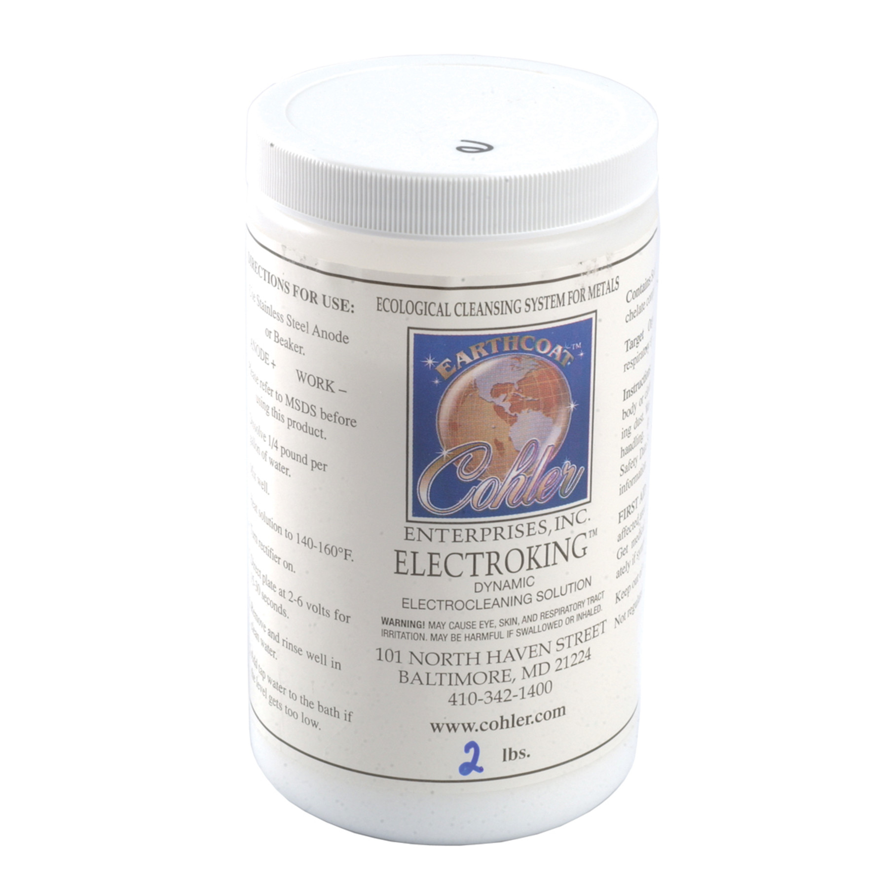 EarthCoat ElectroKing Electrocleaning Concentrate Powder (2