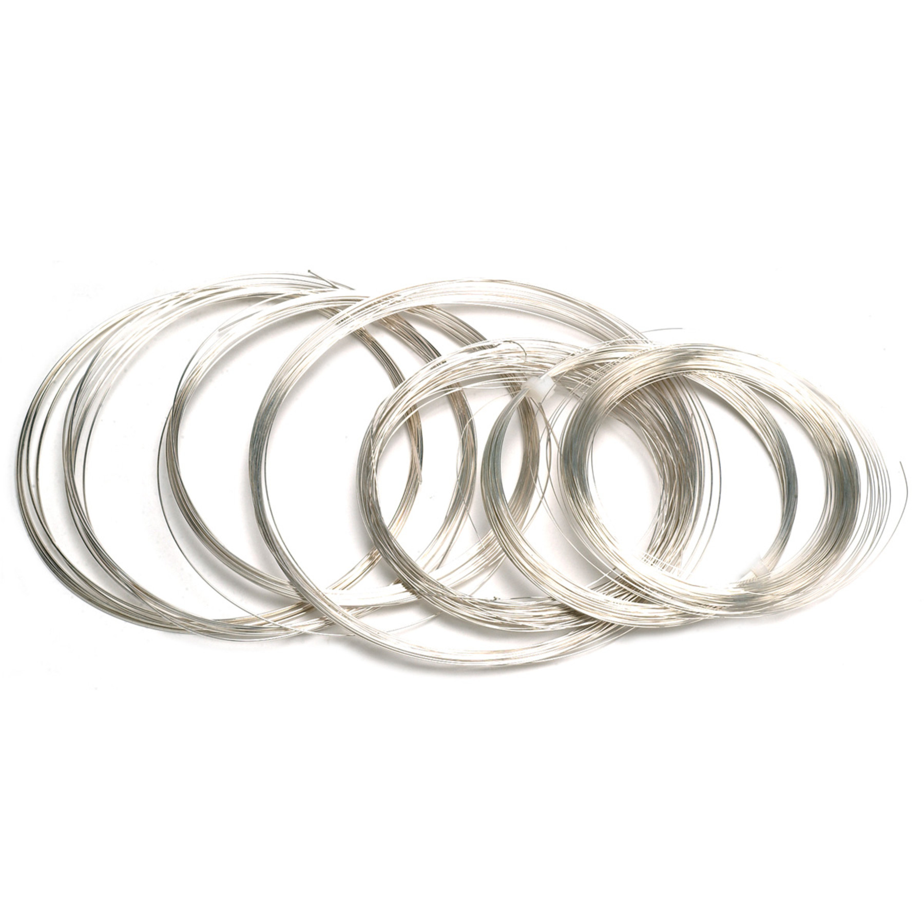 Sterling Silver Round Wire 1 Ounce Coils Half Hard-6 to 30 Gauge ...