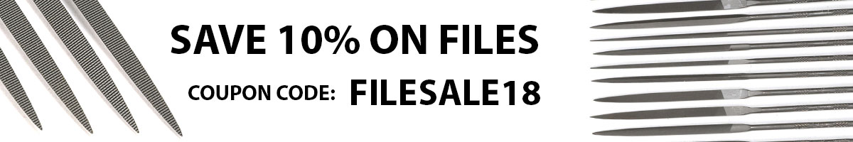 Save 10% Files with Copupon Code: FILESALE18