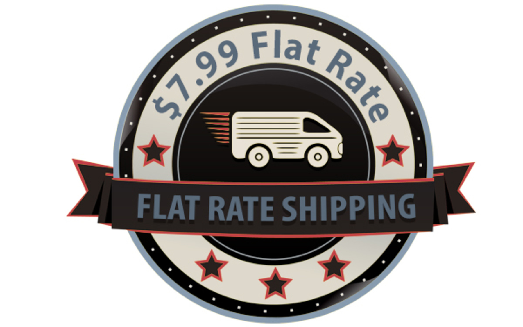 $7.99 Flat Rate Shipping